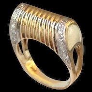 Estate 14k Gold Diamonds Ring with Appraisal