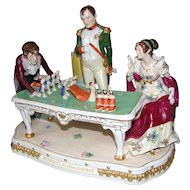 Napoleon and Josephine Planning the Coronation Scheibe Alsbach Porcelain Group