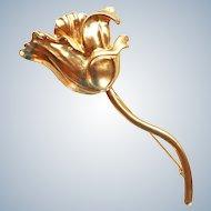 Kenzo Paris Flower Brooch