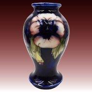 1920s William Moorcroft Pansy Mini Vase