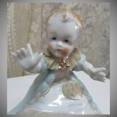 Antique Dresden German Figurine Young Child