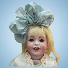 """13"""" S.F.B.J. 236 French Bisque Character Doll"""