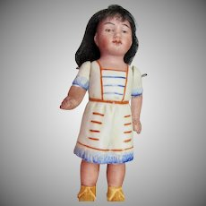 "4 1/2"" German All-bisque Indian Girl."