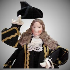 Vintage Liberty of London Speaker o the House of Commons Doll