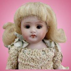 """5"""" Kestner 150 All-bisque Antique Doll"""
