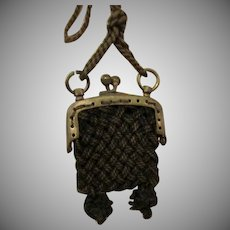 Antique Purse for French Fashion Doll