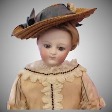 "13"" French Bisque Poupee Young Girl's Appearance"