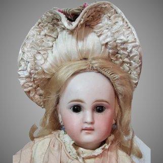 "12"" Belton-Type Sonneberg Bisque Doll"