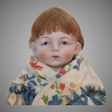 "6"" All-Bisque Bahr & Proschild Doll"