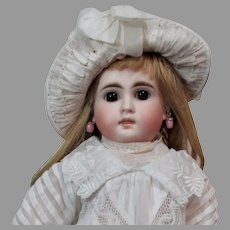 """15"""" Sonneberg Solid Dome Bisque Doll, Model 183"""