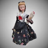 Klumpe type Spanish Cloth Character Doll