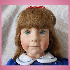"""Julie Good-Kruger Limited Edition Vinyl Artist Doll """"Love Me"""""""