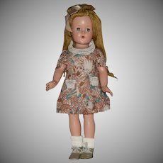 "Effanbee ""Little Lady"" Anne Shirley Composition Doll"