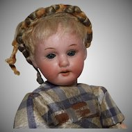 Sweet Petite German Bisque Head Doll