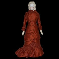 Conta & Boehme German Bisque Parian Lady with Fancy Hairstyle