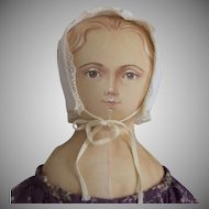 OOAK Cloth Doll with Hand Painted Face