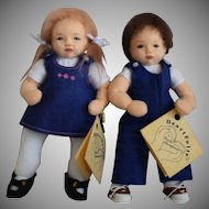Heart Felts Cloth Artist Dolls by Carla Thompson