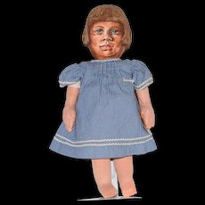 Barbara Buysse OOAK Artist Doll with Oil Painted Head