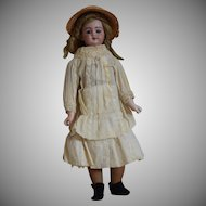 Simon & Halbig Bisque Head Young Lady Doll