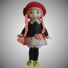 Little Annie Rooney All Bisque Doll
