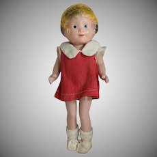 Little Orphan Annie Composition Doll by Freundlich