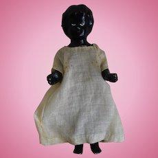 German Badekinder Black Frozen Charlotte China Doll