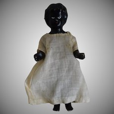 German Badekinder Black Frozen Charlotte China Doll