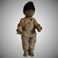 Steiff German Boy Felt Child Doll