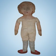 Early Cloth Cut & Sew Doll Designed by Celia and Charity Smith