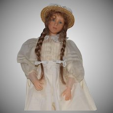Heloise Resin French Artist Doll