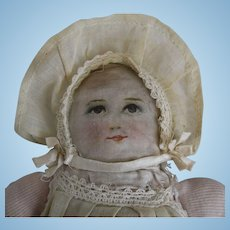 Stockinette Baby Doll with Lithographed Face