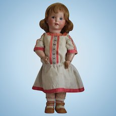 """French Bisque Head Character Doll """"Twirp"""" Mold 247 by SFBJ"""