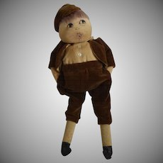 Stockinette Cloth Character Whistling Doll