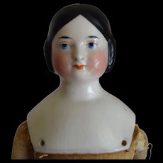 German Kister Covered Wagon China Head Doll with Provenance