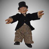 Schoenhut Wooden Barney Google Comic Cartoon Character