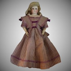 French Fashion Poupee Peau with Original Wig