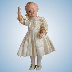 Early Wooden Schoenhut Character Doll Mold 101
