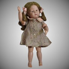 Schoenhut Wooden Toddler Doll