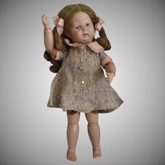 Schoenhut Wooden Toddler Doll