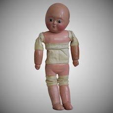 Papier Mache German Sonneberg Taufling Motschmann Doll