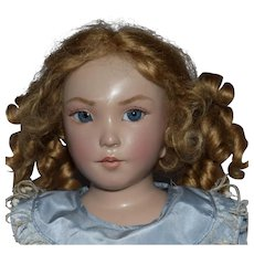Brigitte Deval OOAK Wax over Porcelain Artist Doll