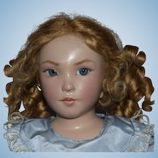 Brigitte Deval OOAK Wax over Porcelain Artist Doll