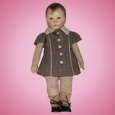Kathe Kruse German Cloth Du Mein Doll VII