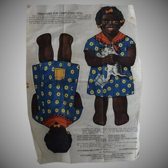 """Arnold Printworks Cut & Sew Advertising Doll """"Diana"""""""