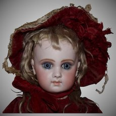 French Jumeau Bisque Head Doll EJ8