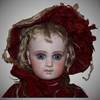 French Jumeau Bisque Head Doll EJ8