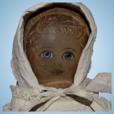 Early Presbyterian Cloth Rag Doll