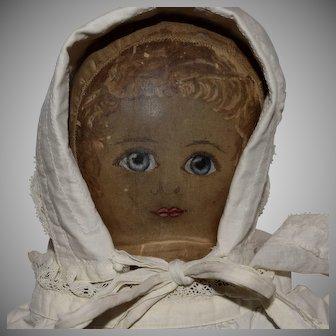 Early Presbyterian Cloth Rag Doll