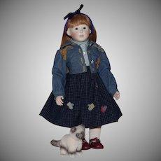 "Roche Artist Doll ""Maggie 3 Little Kittens"""