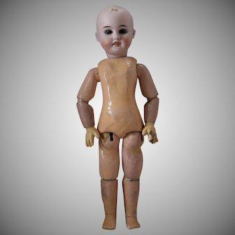Gebruder Kuhnlenz Early Bisque Head Doll